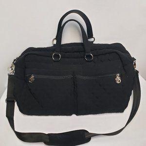 Vera Bradley Weekender Travel Bag black